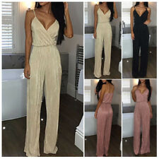 Stylish Women's Ladies Jumpsuit Overall Clubwear Party Playsuit Pants Romper