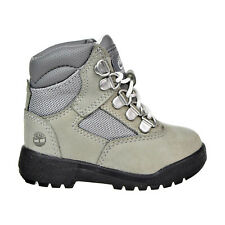 Timberland 6 Inch Field Toddlers Boots Light Grey/Black tb0a1lve