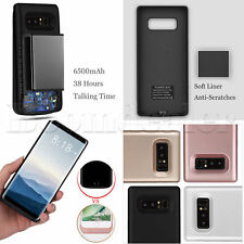 6500mAh Power Bank Cover For Samsung Galaxy Note 8 External Battery Charger Case