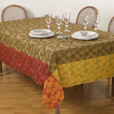 Multi Color Fall Autumn Leaf Table Linens Thanksgiving Harvest Foliage