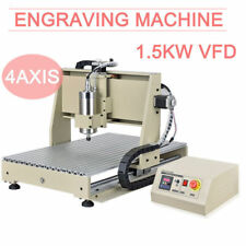 3 Axis/4 Axis USB CNC Router Engraver 3D Engraving Drilling & Milling Machine UK