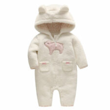 Toddler Infant Baby Boys Girls Down Snowsuit Outerwear Hooded Winter Warm Jacket
