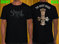 """New Ghost BC Band T Shirt Black """"Heavy Metal Ghost Band Mens Cotton Tee"""" S - 2XL"""