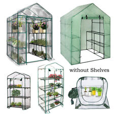 Outdoor Shade Walk In Greenhouse Plant Shed Garden Storage PVC Covers Apex Roof