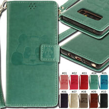 For Samsung Smartphone Wallet Flip PU Leather Cover Case Stand Card Skin Back