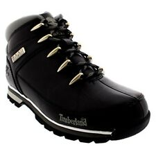 Mens Timberland Euro Sprint Hiker Casual Hiking Walking Ankle Boots-Black