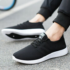 Women Men Lace Up Sport Running Sneakers Breathable Trainers Shoes Casual Shoes