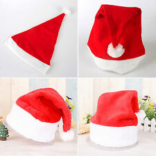 Christmas Santa Claus Red Hat Xmas Party Cosplay Fancy Accessory Decoration Lot