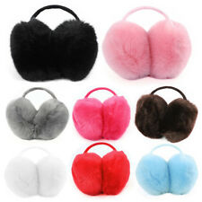 Fashion Women Faux Fur Big Earmuffs Winter Warm Thick Plush Fluffy Ear Muffs
