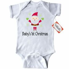 Inktastic Santa Babys 1st Christmas Infant Creeper Claus First Holiday Baby Gift