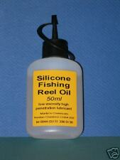 Silicone Fishing Reel Oil 50ml bottle -reduces friction - water repellent