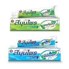 100 g. Twin Lotus Toothpaste Herbal Natural Protection