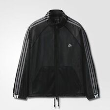 adidas Originals AW MESH TT MEN'S TRACK JACKET Black - Size S, M, L Or XL