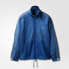 adidas Originals AW MESH TT MEN'S TRACK JACKET Bluebird- Size XS, M, L Or XL