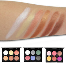 6 Colors Shimmer Matte Eyeshadow Cosmetic Face Makeup Palette Pigment Cream