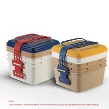 3-Layer Portable Durable Lunch Box Lunchbox Picnic Box Food Container Hot H2P1