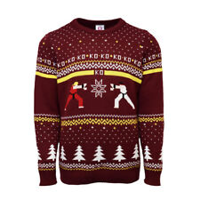 Official Street Fighter Ken Vs. Ryu Christmas Jumper / Ugly Sweater