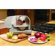 "Deli Slicer Cheese Electric Meat Cutter Food Heavy Duty 9"" Slicing Adjustable"
