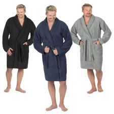 Mens Luxury Soft Terry Cotton Towelling Bath Robe Dressing Gown By Pierre Roche