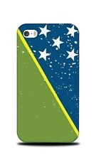SOLOMON ISLANDS COUNTRY FLAG HARD CASE COVER FOR APPLE IPHONE 4 / 4S