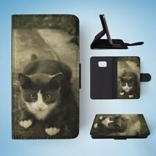 KITTEN CAT 7 FLIP WALLET CASE COVER FOR SAMSUNG GALAXY S7