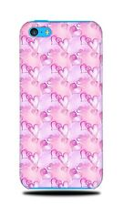 LOVE HEART VALENTINE PATTERN 4 HARD CASE COVER FOR APPLE IPHONE 5C