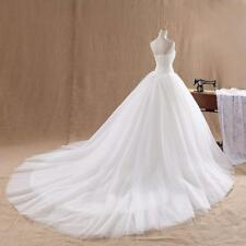 New White Ivory Bridesmaid/Evening Dress Wedding Gown Stock Size 6-8-10-12-14-16