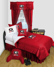 NCAA Georgia Bulldogs Locker Room Comforter & Sheet