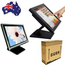 "17""/15'' POS LCD Touch monitor VGA/USB/HDMI Monitor Retail Kiosk Restaurant Bar"