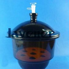 Vacuum Brown Glass desiccator jar lab dessicator dryer Lab glassware Kit Tools