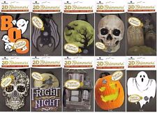 PAPER HOUSE PRODUCTIONS 3D Shimmers Lighted Embellishment - HALLOWEEN - Choose 1