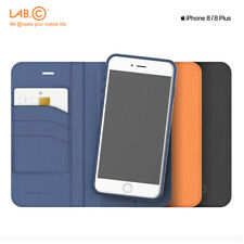 Lab.C Korea Smart Wallet 2 In 1 Leather Cover Cell Phone Case for iPhone 8 8Plus