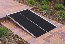 Single Fold Threshold Mobility Easy Access Ramp Handicap Wheelchair Scooter Ramp
