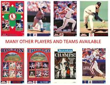 MLB Authentic 90s Sports Illustrated Starline Posters Many Players & Teams