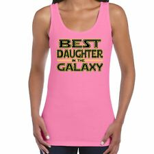 Womens Funny T Shirts-Best Daughter in Galaxy Star Wars Inspired-tshirt