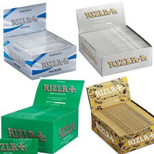 Rizla King Size Cigarette Smoking Rolling Papers All Colors -1,5,20,50 BOOKLETS