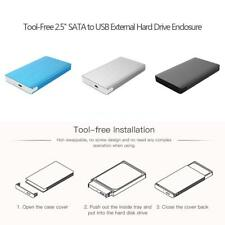 Brand NEW Type C External Hard Disk Drive Enclosure Case Tool-Free No Screw Y5H0