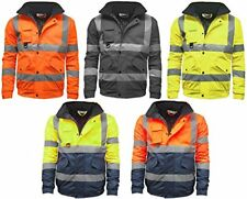 Hi Vis Standard Storm Bomber Jacket Mens High Visibility Jackets,Trousers,Vests