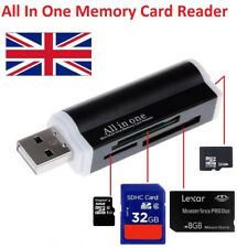 All in One all in 1 External USB Memory SD SDHC Mini Micro MMC MS Card Reader