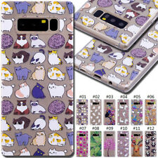 For Samsung Galaxy Painted Silicone Cover Soft Skin Fashion Rubber Back TPU Case