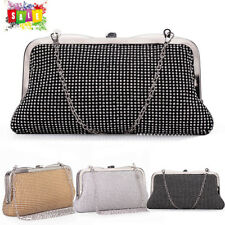 Luxury Women Clutch Evening Bag Rhinestones Party Wedding Purse Wallet Hand Bag