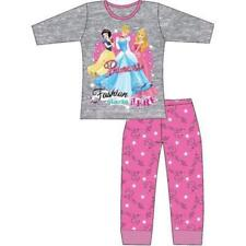 Girls' Disney Princess Long Sleeve Pyjamas Sleepwear Set