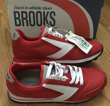 NEW IN BOX! BROOKS Women's Chariot Heritage Running Shoes Retro Red 1201711B691