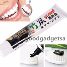 New 100g Bamboo Charcoal All-Purpose Teeth Whitening Clean Black Toothpaste DQ