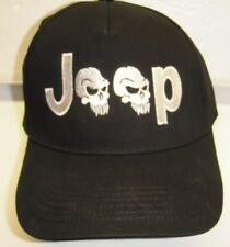 JEEP LOVER Hat - Classy EMBROIDERED with  JEEP SKULLS DESIGN - CRUSHPROOF BOX