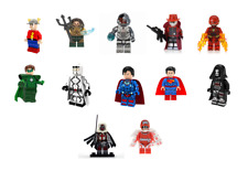 DC Series Super Heroes Assembly Superman Reaper Minifigures Building Toy Blocks