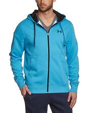 Y BNWT Mens Under Armour Hoodie Hoody Charged Cotton Storm Transit Large AJ Zip