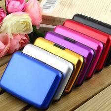 Waterproof Aluminum Alloy Metal ID Credit Card Wallet Holder Purse Pocket Case