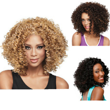 Women Synthetic Long Afro Kinky Curly Wigs Full Hair Wigs for Party Fashion Cos