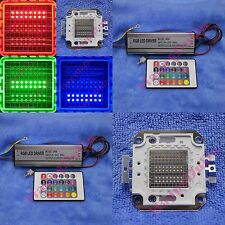 10W 20W 30W 50W RGB Red Green Blue Full Color Colorful LED Lamp Light +AC Driver